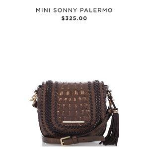 NWT Brahmin Mini Sonny Patina Palermo Crossbody